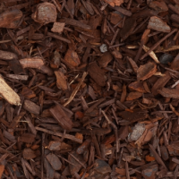 Blended Pine Mulch  ✅ Darker in colour and slightly more fine than regular pine mulch